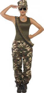 Déguisement Militaire Section 9 Femme