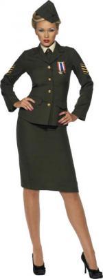 Déguisement Officier De Guerre Femme