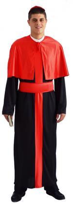 Déguisement Cardinal église Homme