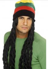 perruque rasta bonnet