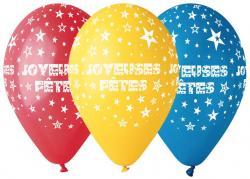 Sachet de Ballons Joyeuses Fêtes pas cher