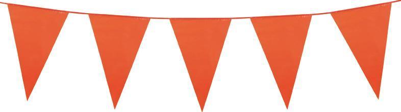 guirlande fanions oranges
