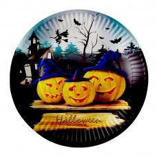 assiettes en carton halloween