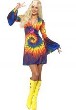 robe tie dye hippie