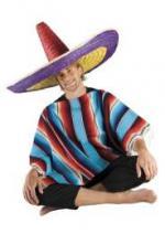 Déguisements Chapeau Sombrero Multicolore