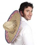 Déguisements Chapeau Sombrero Paille