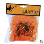 Déguisements Toile araignée orange halloween