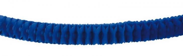 guirlande bleu papier ignifuge