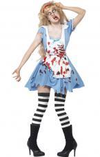 costume zombie alice