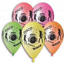 ballons disco multicolore