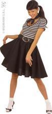 deguisement jupe noire rock nroll