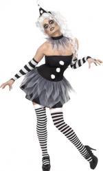 Déguisement Cirque Sinistre Pierrette