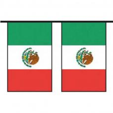 guirlande drapeaux mexique