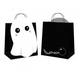 sacs chasse bonbons ghost