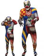 Déguisements Seconde Peau Scary Clown