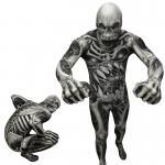Déguisements Seconde Peau Monstre Squelette