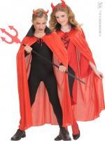 Déguisements Cape Halloween Diable Enfant