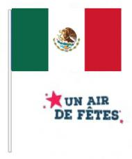 drapeaux mexique en papier