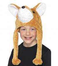 chapeau renard bicolore