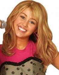 Perruque Hannah Montana pas cher