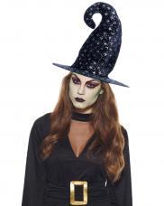 chapeau halloween velours noir
