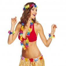 set hawaien multicolore