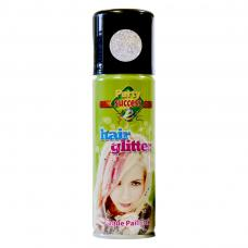 spray paillettes argent cheveux