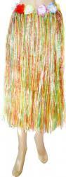 Pagne Raphia Long Multicolore pas cher
