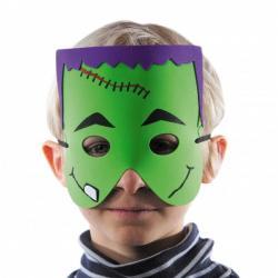 Masque Enfant en mousse Frankestein