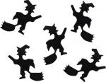 Déguisements confettis sorciere noire halloween