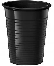 gobelets plastique noir