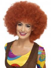 perruque afro auburn