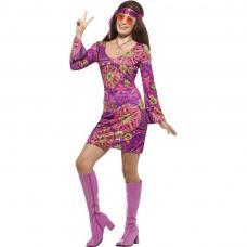 costume hippie femme woodstock