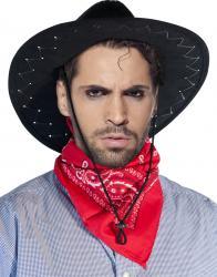 Foulard cowboy rouge pas cher