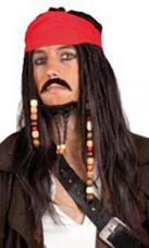 perruque pirate des caraibes