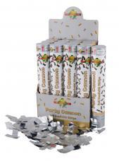 canon a confettis metallise argent