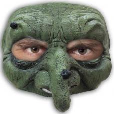 demi masque de sorciere