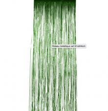 rideau metallique vert