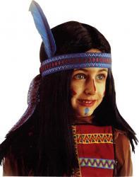Perruque Indien Enfant pas cher