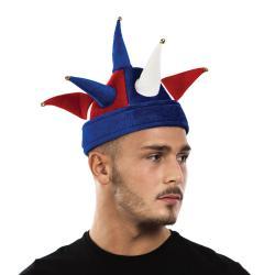 Chapeau de Fou Tricolore pas cher