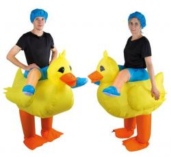 Costume adulte gonflable canard pas cher