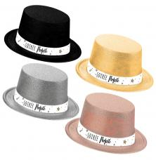 chapeau paillete soiree parfaite