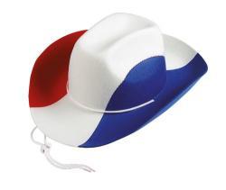 Chapeau Cowboy Tricolore pas cher