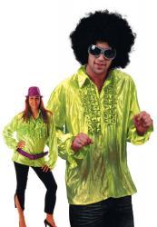 Chemise Disco Verte pas cher