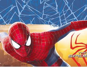 nappe anniversaire spiderman