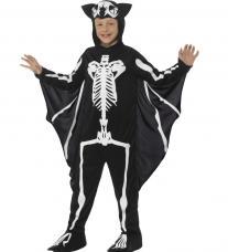 costume chauve souris squelette