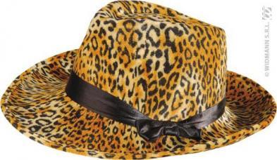 chapeau leopard