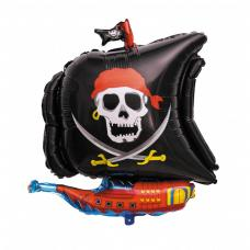 ballon bateau de pirate