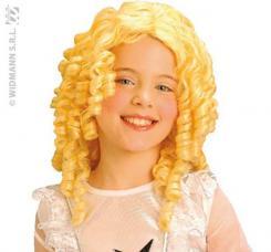 perruque blonde enfant