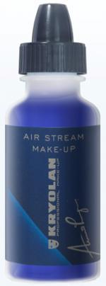 Déguisements Fard Kryolan Air Stream Matt Blue
